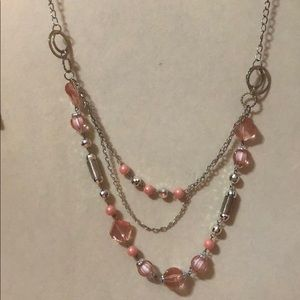 Jewelry - pink and silver necklace